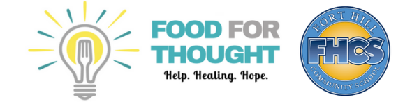 Food for Thought Fort Hill Backpack Logo
